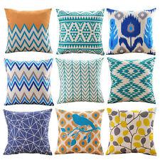 Vinatge Bohemian Sofa Bed Pillow Case Home Decoration Festival Cushion Cover New