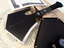 United Colombian Survival Tool Axe Saw Knife Shovel 1065CS UC3170 G10 Full Tang