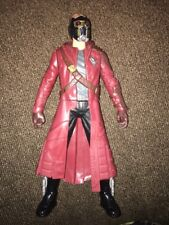 """Star-Lord Marvel Guardians Of The Galaxy Music 12"""" Talking Action Figure Used"""