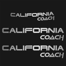 Aufkleber California Coach T4