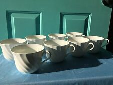 """Wedgwood China """"Candlelight"""" Coffee Cups Set of 8"""