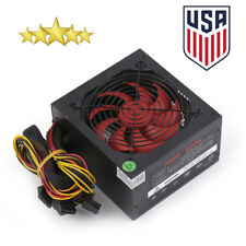 Quiet 1000 Watt 1000W for Intel AMD PC ATX Power Supply Dual 12V SATA Gaming NEW
