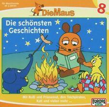 Schöne CD: Die Sendung mit der Maus – Die Maus 8 - Die schönsten Geschichten