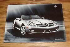Original 2010 Mercedes-Benz SLK-Class Sales Brochure 10 300 350