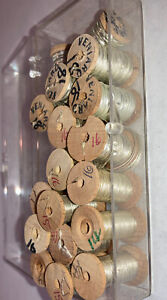 Lot of Vintage French Vernie Metal Tinsel for Salmon Fly Tying or Crafts
