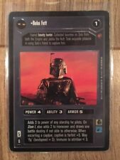 Star Wars CCG Cloud City Boba Fett