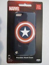 MARVEL IPOD TOUCH 5TH GENERATION FLEXIBLE HARD CASE CAPTAIN AMERICA SHIELD NEW