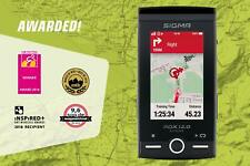 Sigma ROX SET 12.0 GPS Fahrrad-Navigationsgerät Farbdisplay ANT WiFi  Tritt/Gurt