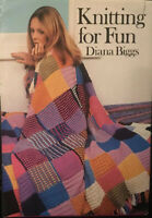 Knitting for Fun - Diana Biggs - Hardcover W/ Dust Jacket