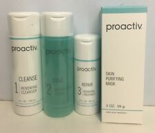 Proactiv Solution 4 pc Kit -Cleanse, Tone, Treatment, Mask EXP 04/20
