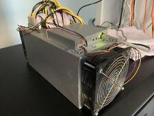 EBANG Ebit E9+ Bitcoin Miner 7.7 Th/s like AntMiner + PSU SHA-256 cryptocurrency