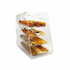 Winco Adc-4 Counter Top Acrylic Display Case 4 Trays