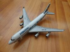REALTOY 1:400 INTERNATIONAL AIRLINES BOEING 747-400 DIECAST MODEL AIRCRAFT PLANE
