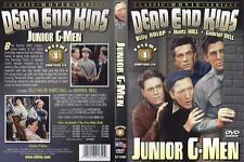 DVD 6-CH. SERIAL  VOL. 1 EPISODES 1-6 JUNIOR G-MEN.....DEAD END KIDS