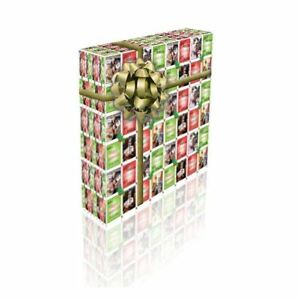 Delboy and Rodney Personalised Christmas Gift Wrap With 2 Tags - ADD A NAME!