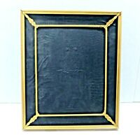 """VINTAGE BRASS PICTURE FRAME TABLE TOP OR WALL HANGING 10 X 12"""""""