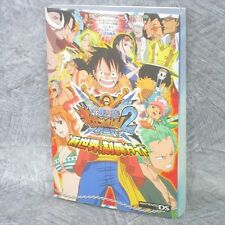 ONE PIECE Giga Battle 2 New World Game Guide w/Poster Japan DS Book VJ124*