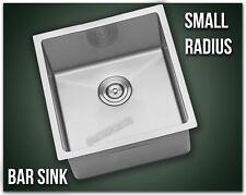 "16"" Single Bowl Undermount 16 Gauge 304 Stainless Steel Kitchen Sink Radius 18"""