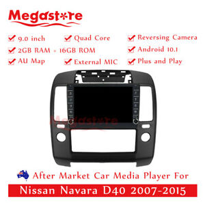 """9"""" Quad Core Android 10.1 Car non dvd Media Player GPS For Nissan Navara D40"""