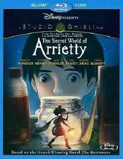 The Secret World of Arrietty NEW (Blu-ray/DVD Combo Pack, 2012, 2-Disc Set)