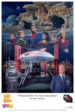 """Lost In Space - """"From Earth to the Unknown"""" Print Ron Gross"""