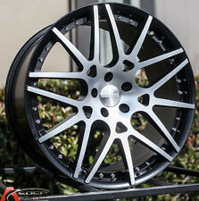 20X8.5 20X10 EURO MAG EM6 5X112 +35 MACHINED WHEEL FIT MERCEDES CLS CLK SLK 550