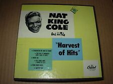 "NAT KING COLE harvest of hits ( r&b ) 3 x 7"" / 45 - capitol 213 box -"
