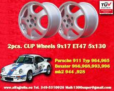 """2 Stk. rad Cupfelgen 9.5x17"""" x Porsche 911 964 993 996 Boxster 968 TÜV Räder"""