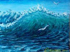 12/16 IN.acylic painting original.still life. A.Vodyanovskii .russian art.