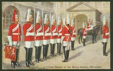 4 o'clock Parade at the Horse Guards, Whitehall - Vintage C.T.Howard Postcard