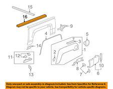 Hummer GM OEM H3T Bed or Tailgate-Top Molding Trim Protector Cap Left 94735896