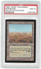 Scrubland - Collectors Edition - PSA Mint 9 - MTG Magic