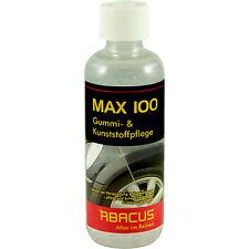 MAX 100 - 300 ml - Gummipflege Reifenpflege Spoilerpflege Kunststoffreiniger NEU