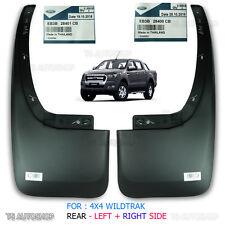 For 2015-2017 Ford Ranger MK2 4x4 Xlt Oem Genuine Rear L+R Mud Flap Splash Guard