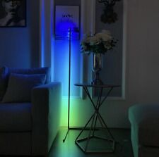 Modern - Colour RGB - Minimalist LED Corner Floor Lamp - Black - Mood lighting