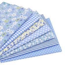 7pcs Baumwollgewebe Patchwork Gewebe nähen DIY Textil-Puppe-Kleid-Kissen-Kasten