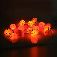 Halloween Lantern 16Pumpkin LED Light Bat Spider Hang Party Wall/Decor Lamp Kit