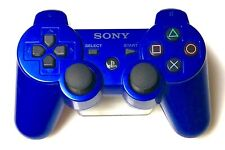 Genuine OEM Sony Playstation 3 PS3 Sixaxis DualShock 3 Gamepad - BLUE