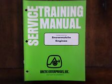 Arctic Cat Snowmobile Engines Troubleshooting Service Training Manual