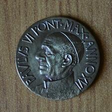 MEDAGLIA VATICANO PAPA PAOLO VI PONT MAX 1963 1978  ANNO XVI SUBALPINA