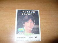 BIGLIETTO TICKETS CONCERTO JACKSON BROWNE MILANO ANNI '90 BARLEY ARTS