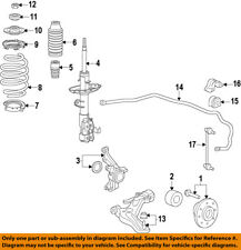 HONDA OEM 09-13 Fit-Front Wheel Bearing 44300TK6A01