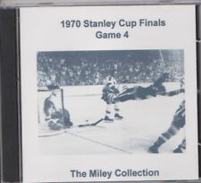 1970 Stanley Cup Final Game 4 original radio broadcast CD Bobby Orr Bob Cole