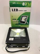 20W LED Floodlight Outdoor Yard Garden Light IP66