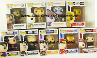 Funko Pop Vinyl Figures And Bobble Heads Includes Rare And Variants Various