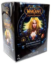Sealed World of Warcraft Jania Proudmoore Alliance Mage Champion Deck WoW TCG