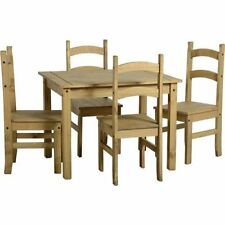 Wooden Dining Room Country Up to 4 Seats Table & Chair Sets
