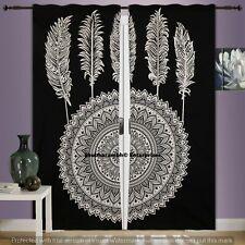 Mandala Window Treatment Sets Handmade Cotton Curtains Throw Decor Room Drapery