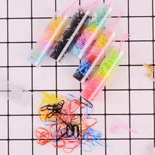 Colorful Elastic Hair Band Kids Girls Hair Rope Hair Accessories Random Color