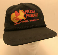 Pelican Products Vintage Rope Hat The Worlds Toughest Lights And Cases Vtg Cap